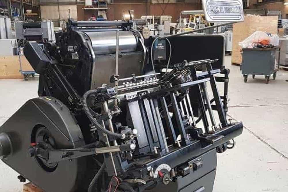 چاپ لترپرس قدیمی ترین فناوری در صنعت چاپ letterpress printing the oldest technology in printing industries